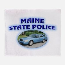 Maine State Police Throw Blanket