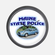 Maine State Police Wall Clock