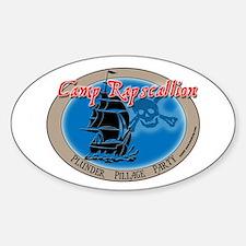 Camp Rapscallion Oval Decal