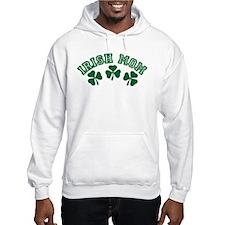 Irish Mom Clover Hoodie