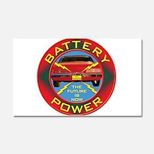 Battery Power Car Magnet 20 x 12