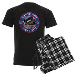 Waste is a waste. Pajamas