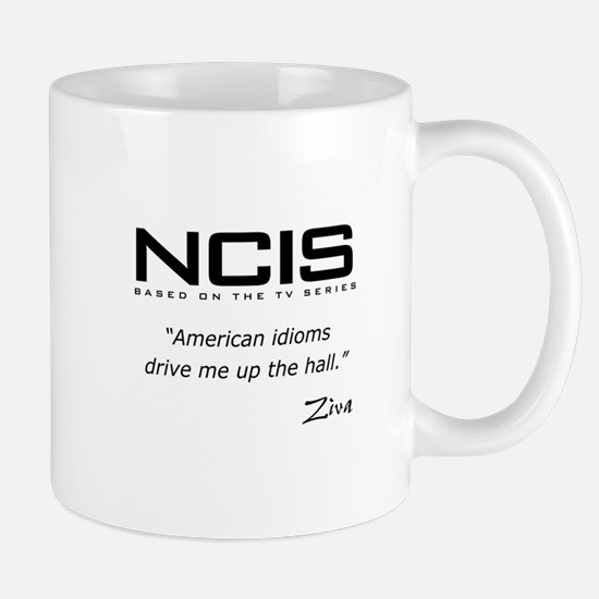 NCIS Ziva David Idioms Quote Mug