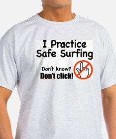 SAFE SURFING Shirt (Gray)