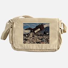Garbage Messenger Bag