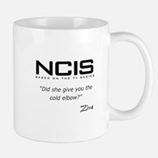 NCIS Ziva David Cold Elbow Quote Mug