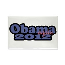 Obama Again 2012 Rectangle Magnet