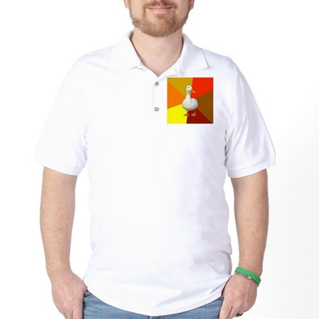 Technologically Impaired Duck Golf Shirt
