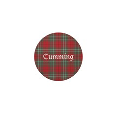 Tartan - Cumming Mini Button (10 pack)