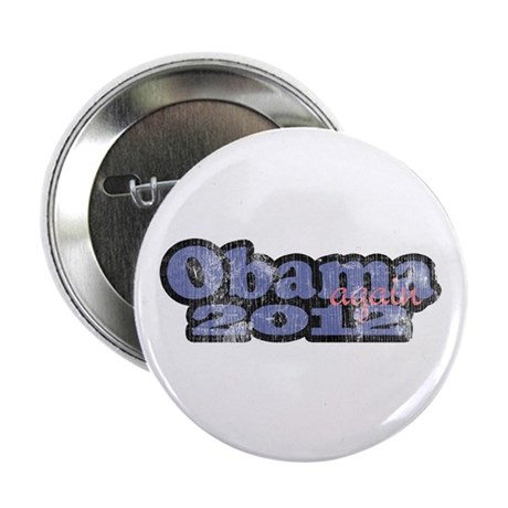 "Obama Again 2012 2.25"" Button (10 pack)"