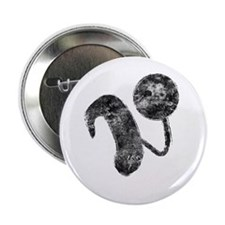 """Cochlear Implant 2.25"""" Button"""