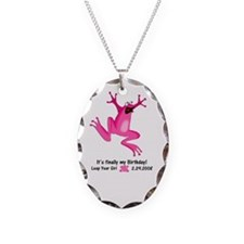 Cute Leap day Necklace
