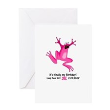 Cool Leap year Greeting Card