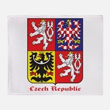 Czech Republic Throw Blanket