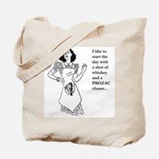 Start My Day Tote Bag
