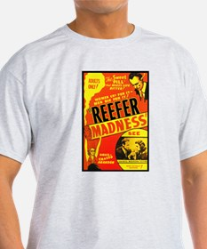 Reefer Madness Ash Grey T-Shirt