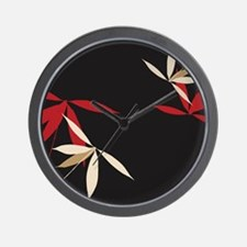 Trendy Floral Decor Wall Clock