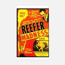 Reefer Madness Rectangle Decal