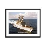 USS MERRILL Framed Panel Print