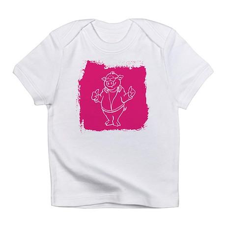 Cool Cartoon Pig Infant T-Shirt