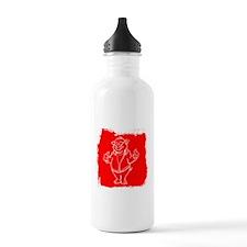 Cool Cartoon Pig Water Bottle