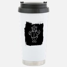Cool Cartoon Pig Travel Mug