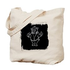 Cool Cartoon Pig Tote Bag