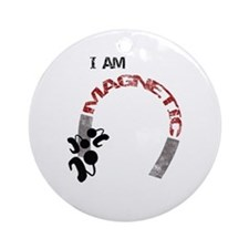 I am magnetic! Ornament (Round)
