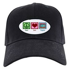 Peace Love Puppets Baseball Hat