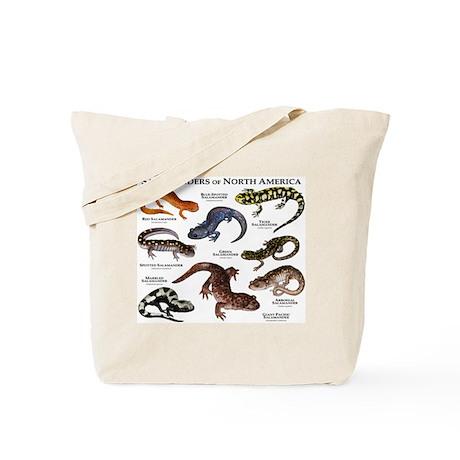 Salamanders of North America Tote Bag