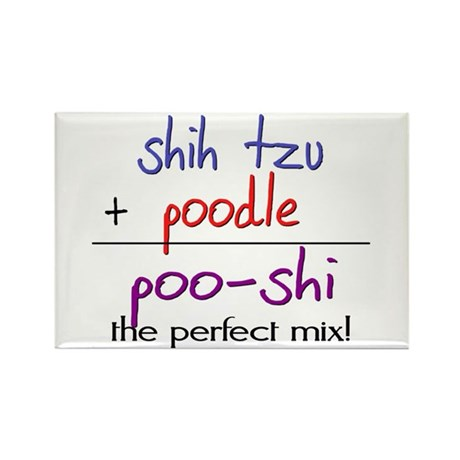 Poo-shi PERFECT MIX Rectangle Magnet