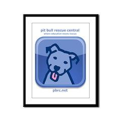 dogsocial Framed Panel Print