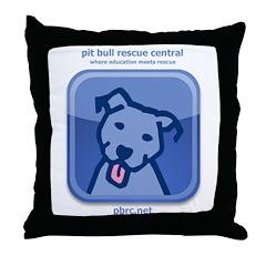dogsocial Throw Pillow