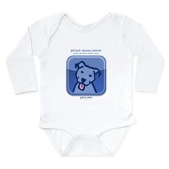 dogsocial Long Sleeve Infant Bodysuit