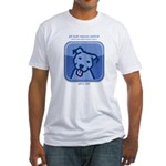 dogsocial Fitted T-Shirt