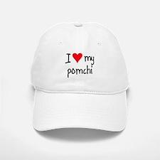 I LOVE MY Pomchi Baseball Baseball Cap