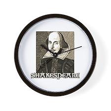 Shakespeare Portrait Wall Clock