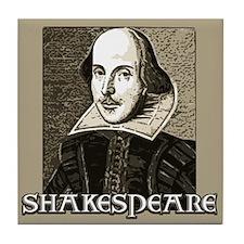 Shakespeare Portrait Tile Coaster