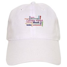Words Baseball Cap