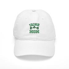 Irish Mom St Paddy's Clover Baseball Cap