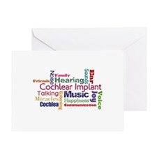 Words Greeting Card