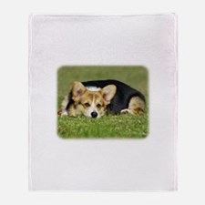 Welsh Corgi Pembroke 9M72D-05 Throw Blanket