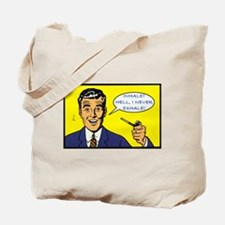Funny Campy Tote Bag