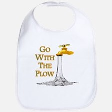 Go With The Flow Cotton Baby Bib
