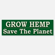 Legalize Hemp Farming Green - Bumper Bumper Sticker