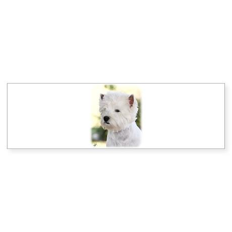 West Highland White Terrier 9Y788D-373 Sticker (Bu