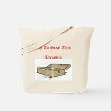 Cute Treasure hunter Tote Bag