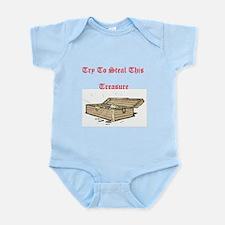Funny Theft Infant Bodysuit