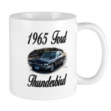 1965 Black Ford Thunderbird Small Mug