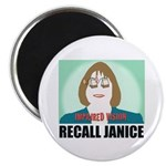 """2.25"""" Magnet (10pk): Recall Janice - Impaired"""